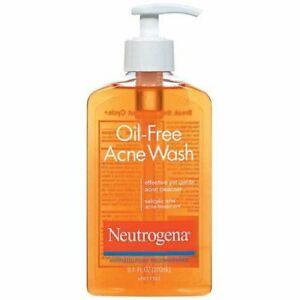 Neutrogena Oil-Free Acne Wash 9.1oz Fighting Facial Cleanser w/Salicylic Dail...