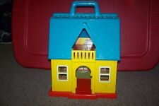 Vintage Illco Jim Henson's Sesame Street Bert & Ernie Opening Toy House Used