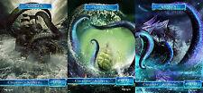 Kraken Pack Custom Tokens MTG Born of the Gods(for Kiora,the Crashing Wave)