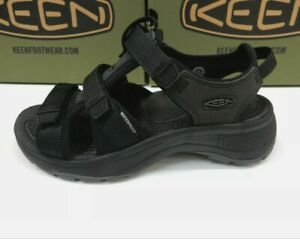 Keen Womens Astoria West Open Toe Black Black size 5