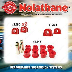 Rear Nolathane Suspension Bush Kit for SUBARU LEONE L SERIES INCL RX TURBO