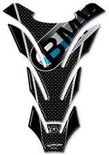 PARASERBATOIO ADESIVI in RESINA 3D CARBONIO PROTEZIONE SERBATOIO per MOTO BMW