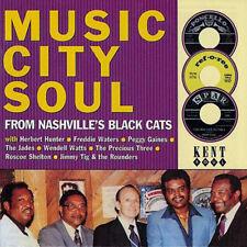 "MUSIC CITY SOUL  ""26 STUNNING TRACKS FROM NASHVILLE'S BLACK CATS"""