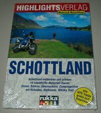 Motorrad Reiseführer Schottland entdecken 10 Traumhafte Touren Buch Neu!