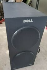 Dell Altec Lansing 04J133 THX subwoofer Turns On + Power and Audio Cables