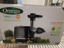 Omega Cold Press 365 Slow Masticating Juicer - Black