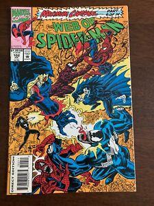 Web of Spider-Man #102 (Jul 1993, Marvel) Carnage Venom VF+