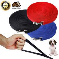 Dog Leash Long Obedience Recall Foot Feet Training Lead 6/15/23/33/50/100 FT