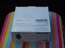 2x Lautsprecher-Chassis  Von Visaton Model W200 80 W 4 Ω