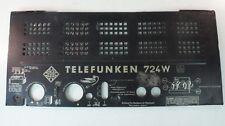Rückwand Röhrenradio Telefunken 724W Ersattzteil Part  W-1409