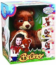 Emotion Pets Bruno the Bear New & Sealed