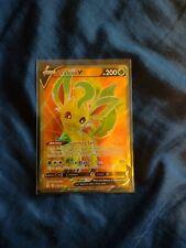 New listing Pokemon Tcg: Evolving Skies - Leafeon V Full Art Ultra Rare 166/203 - Nm Fresh