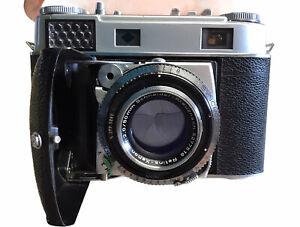 Kodak Retina III C 35mm Rangefinder Camera w/ Xenon C 50mm F2.0 Lens As Is