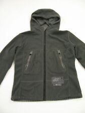 G Star Raw - Women's Grey Fleece Full-Zip Hoodie / Hooded Jacket - Size Large