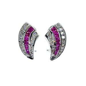 genuine pearl chandelier earrings choose clip on or pierced Amethyst Rose Quartz