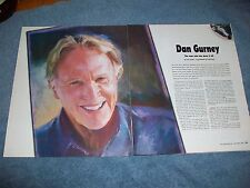 "2004 Dan Gurney Race Car Driver Interview Article ""The Man Who Has Done it All"""