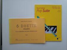 Abverkauf Noten Paket  Paket Nr. B1 – Altflöte Duette 1