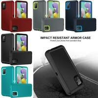 For Samsung Galaxy A71 5G 2020 Hybrid Heavy Duty Case Holster Clip Fits Otterbox