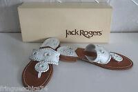 sandales blanches sandals JACK ROGERS size 36 eu 5 us 3 uk NEUVES/BOITE val 125€