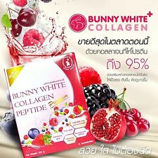 Bunny White Collagen 150,000mg. Extracted From Salmon Roe with Natural 15 sachet
