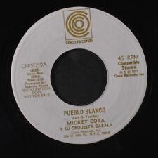 MICKEY CORA: Pueblo Blanco / Borinquen Te Amo 45 Hear! (dj, slight warp dnap)