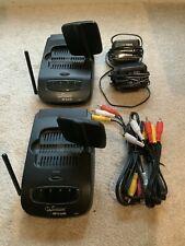 RF-Link Wavecom Sr. Wireless Audio Video Transmitter Receiver Set Tx888R Rx999R