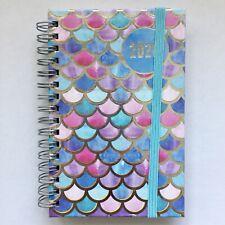 Taschenkalender 2020 Planer Timer Kalender A6, Motiv: Pastellfarben, Spiralbind