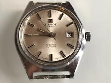 Vintage Tissot Actualis Autolub Stainless Mechanical Hand Wind Men's Wristwatch