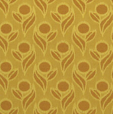 Pinette Sunflower Yellow Orange Textured #Crypton Upholstery Fabric 1847547