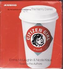 """""""CITIZEN GIRL"""" 5 CD AUDIOBOOK 2004 simon & schuster"""