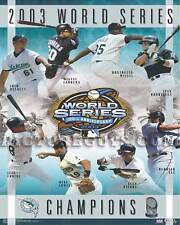 Florida Marlins 2003 World Series Championship Picture Plaque