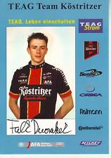 CYCLISME carte cycliste FALK DWORATZEK équipe KOSTRITZER 2004 signée