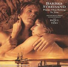 "BARBRA STREISAND - Places That Belong To You (UK 2 Tk 1992 7"" Single PS)"