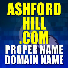 ASHFORDHILL.COM DOMAIN NAME Great Personal Name or Potential Company Name