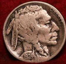 1924-S San Francisco Mint Buffalo Nickel