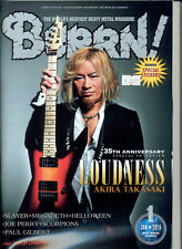 BURRN! Magazine Japan No. 1 / 2016 LOUDNESS, SLAYER