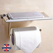 Bathroom Toilet Roll Tissue Holders Stand Paper Storage Dispensers Wall Mounted