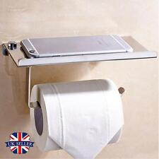 Portarrollo Montado en pared Cuarto de baño WC Rollo Papel Soporte de papel Casa