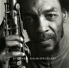 "SAM RIVERS ALBUM COVER PHOTO 8X10"" B&W VINTAGE PRINT / SIGNED SALMIERI 1977"