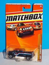 Matchbox 2010 Construction Series #50 GMC Terradyne Dark Blue