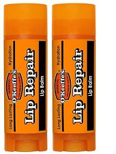 O'Keefe Cooling Relief Cracked or Dry Lip Repair Relief Lip Balm 2 PACK