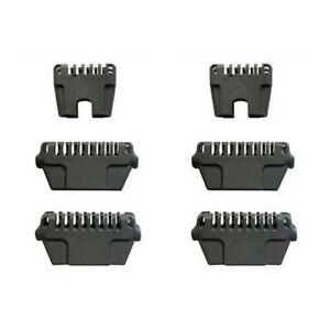 6X No No Thermicon Tips- 4 Wide, 2 Narrow- Brand New