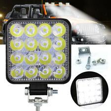 Square 48W LED Work Light 12V 24V Off Road Flood Spot Lamp For Car Truck SUV