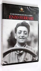 DVD LE GRANDI BIOGRAFIE DELLA STORIA n. 6 ENZO FERRARI 2005 Documentario