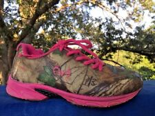 90c7cdae9e080 SHOE SALE on REALTREE Extra Camo Hot Pink Cobra Jr Girls Sneakers Shoes  Size 1