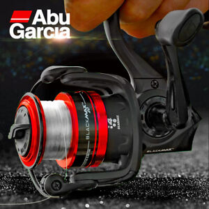 ABU GARCIA BMAX PMAX Spinning Fishing Reel 5.2:1 Metal Spool Spinning Wheel