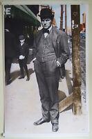 1902 Young Clarence Darrow 36x24 Hi-Q Lg-Format Art Poster ~IWW AFL Labor Lawyer