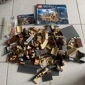 Lego Harry Potter Hogwarts Great Hall (75954) & 75950 *No Box*
