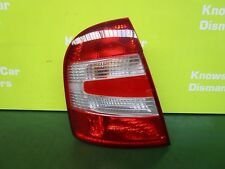 SKODA FABIA MK1 Typ 6Y 2000-07 PASSENGER SIDE REAR LIGHT