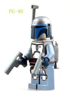 JANGO FETT MINIFIGURE STAR WARS CUSTOM Lego MINI FIG